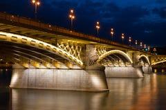 Margaret Bridge in Boedapest Stock Fotografie