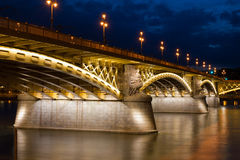 Margaret Bridge in Budapest Stock Photography