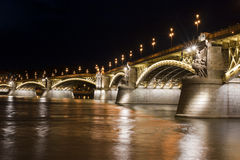 Margaret Bridge in Budapest Royalty Free Stock Photography