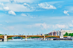 Margaret Bridge (sometimes Margit Bridge), Hungary, connecting B Stock Photography