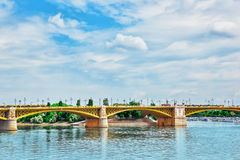 Margaret Bridge (sometimes Margit Bridge), Hungary, connecting B Royalty Free Stock Photography