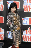 Margaret Cho on the red carpet. Royalty Free Stock Images
