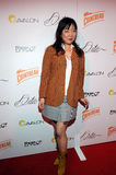 Margaret Cho on the red carpet. Royalty Free Stock Photo