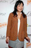 Margaret Cho on the red carpet. Stock Image