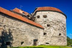 Margaret gorda, una torre de la fortaleza en Tallinn Fotografía de archivo libre de regalías