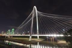 The Margaret Hunt Bridge in Dallas, Texas Royalty Free Stock Image