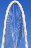 Margaret Hunt Hill Bridge - Dallas Texas Stock Photography