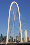 Margaret Hunt Hill Bridge - Dallas Texas Stock Images
