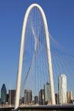 Margaret Hunt Hill Bridge - Dallas Texas stock images