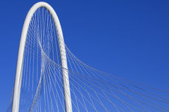 Margaret Hunt Hill Bridge - Dallas Texas Royalty Free Stock Photos