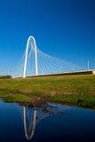 Margaret Hunt Hill Bridge in Dallas Royalty Free Stock Image