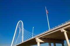 Margaret Hunt Hill Bridge in Dallas Stock Photography