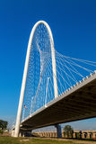 Margaret Hunt Hill Bridge in Dallas Stock Photos