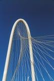 Margaret Hunt Hill Bridge in Dallas Stock Photo