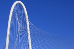 Margaret-Jagd-Hügel-Brücke - Dallas Texas Lizenzfreie Stockfotos