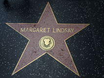 Margaret Lindsay-Stern in Hollywood Lizenzfreie Stockbilder
