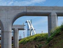 Margaret McDermott Bridge Arch Stock Photo