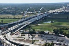Margaret McDermott Bridge in Dallas, Texas Royalty Free Stock Images