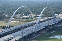 Margaret McDermott Bridge in Dallas, Texas Royalty Free Stock Photo