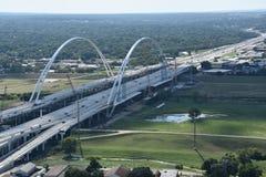 Margaret McDermott Bridge in Dallas, Texas Stock Image