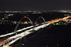 Margaret McDermott Bridge in Dallas, Texas Royalty Free Stock Image