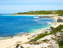 Margaret River, Western Australia. View of Surfers Point, Margaret River, Western Australia Stock Photo