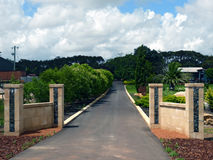 Margaret River wine capital of Australia. Travel around Australia on a motorbike stock photos