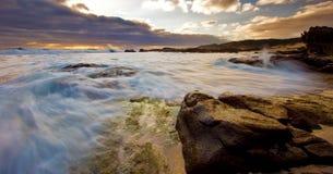 Margaret River-zeegezicht Stock Foto's