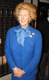 Margaret Thatcher bij Mevrouw Tussaud's royalty-vrije stock afbeeldingen