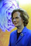 Margaret Thatcher vaxdiagram Arkivfoton