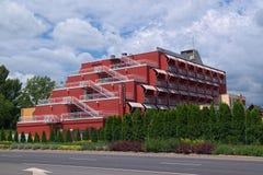 Margareta Hotel in Balatonfured town, Hungary Royalty Free Stock Photo