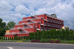 Margareta hotel w Balatonfured miasteczku, Węgry zdjęcie royalty free