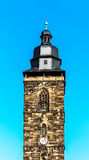 The Margarethenkirche – Church tower (built 1531-1542) in Gotha, Germany Royalty Free Stock Image