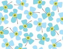 Margaridas azuis de bebê ilustração royalty free