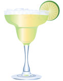 Margarita. This illustration uses transparencies but is done completely in vector illustration