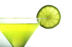 Margarita. With lime Royalty Free Stock Photography
