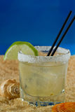 Margarita on the beach Royalty Free Stock Photo