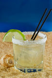 Margarita on the beach Royalty Free Stock Photos