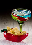 Margarita and Chips Royalty Free Stock Photo