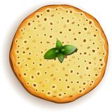Margarita classique de pizza Image libre de droits