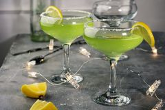 Margarita Cocktail arkivbild