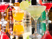 Margarita cocktail Stock Image