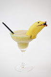 Margarita-Cocktail banane Stockbild