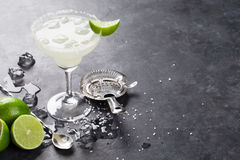 Margarita cocktail Stock Images