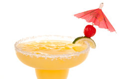 Margarita cocktail drink close up Stock Photography