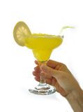 Margarita cocktail glass Royalty Free Stock Photos