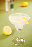 Margarita cocktail with lemon Stock Image
