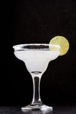 Margarita cocktail on slate background stock photo