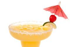 Margarita-Cocktailgetränkabschluß oben Stockfotografie