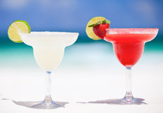Margarita cocktails Royalty Free Stock Image